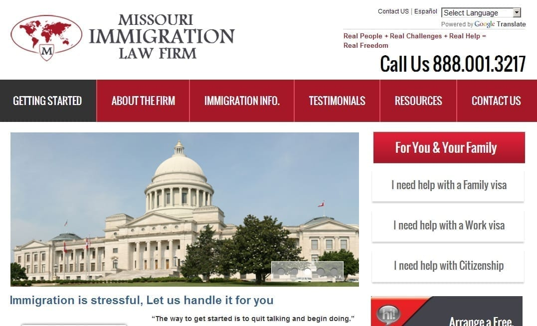 Immigration Law Firm Case Study