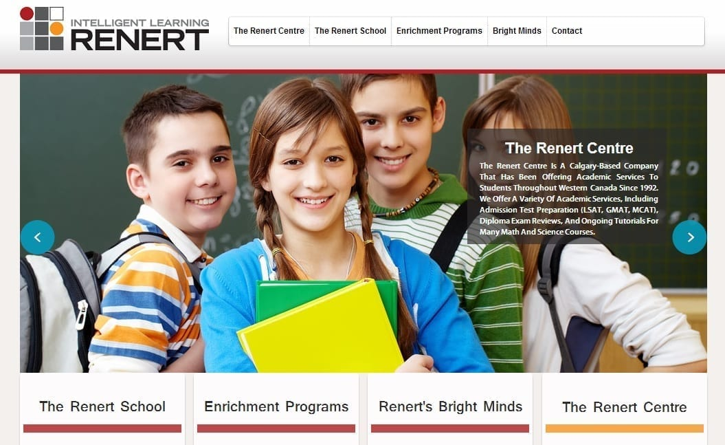 Case Study on Education Institution Website Design