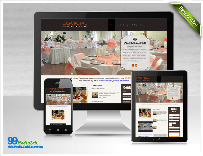 restaurant web page case study