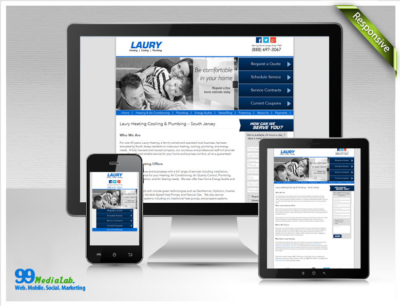 website design in fredericksburg