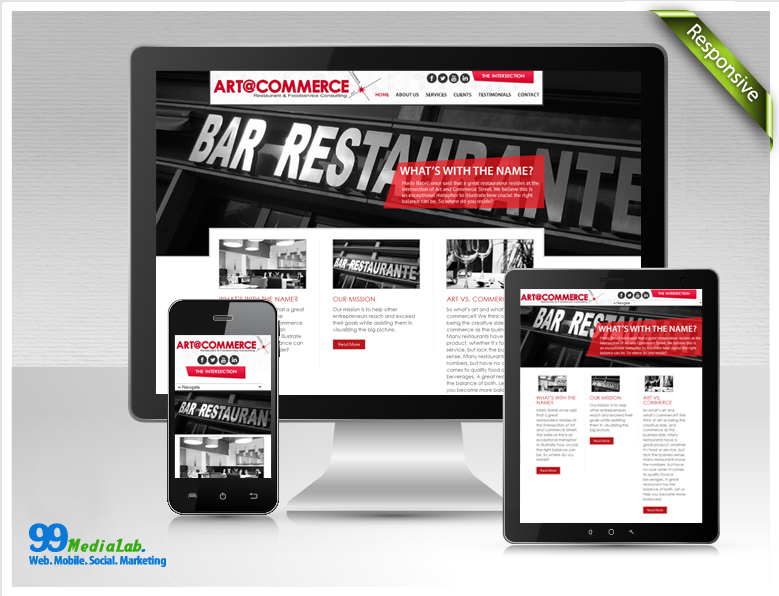 restaurant website case study
