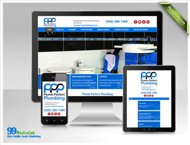 plumber website case study