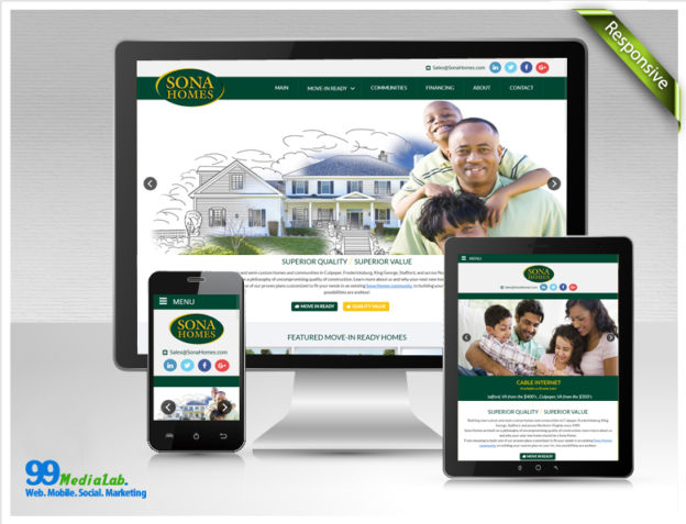 website for home builder