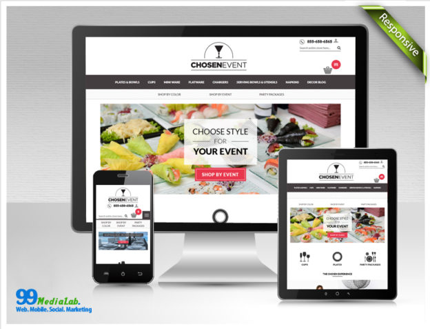 chosen event magento design