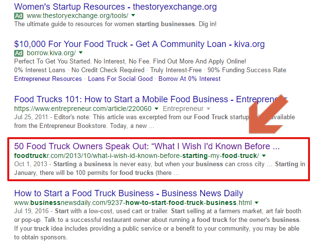 foodtruck business rankings