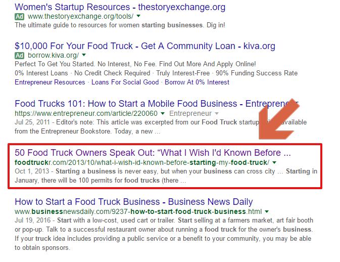 foodtruck business rankings