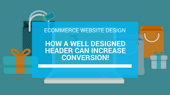 ecommerce header design