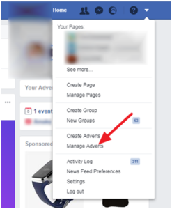 local marketing outreach facebook manage advertisements