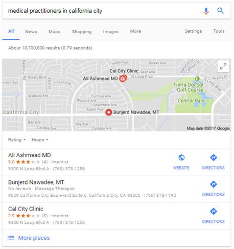 local marketing outreach google maps