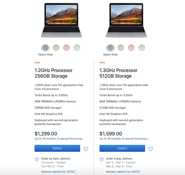 Apple's upsell offer